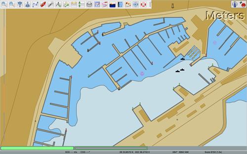 OpenCPN S63 Karte Bucht von Palma